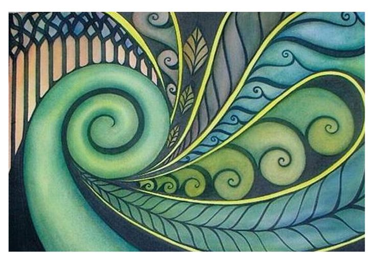 Art lessons | New Zealand Maori Koru Art Lesson Plan: Multicultural Art and