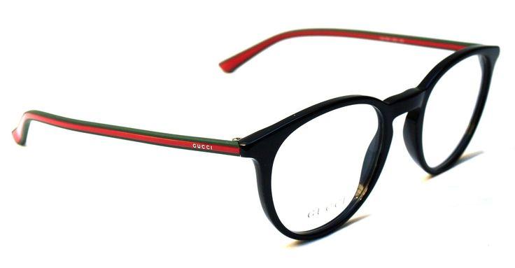 Gucci Eyeglasses Fashion glasses online GG 1103 Black Occhiali da Vista | eBay