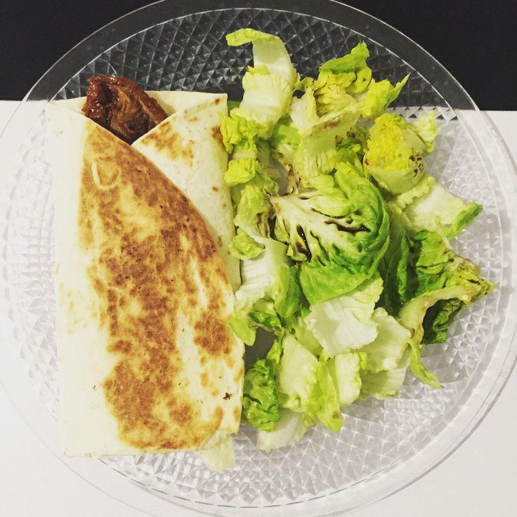 Le wrap healthy jambon chèvre – Nos trouvailles de mamans recette Weight watchers 8 smart point