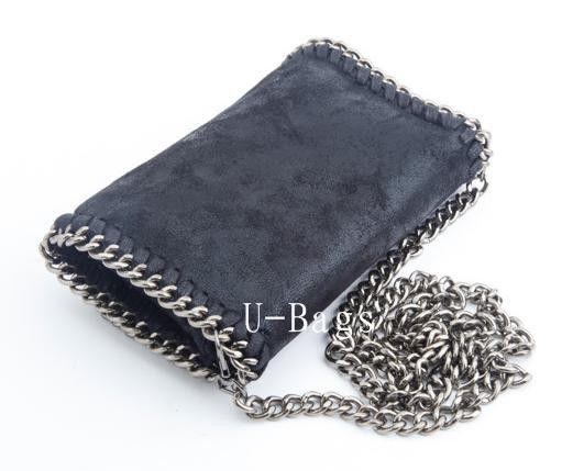 Fashion Women Handbags High Quality Brand PVC Crossbody Stella Bag Envelope Clutch Message Chain Bags