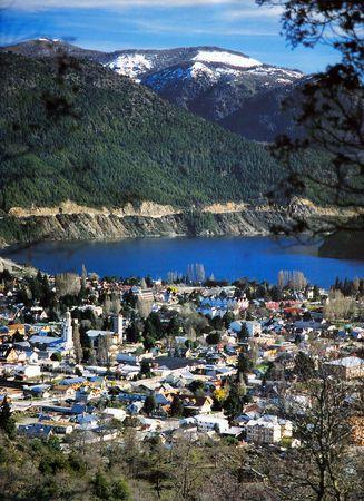 San Martín de los Andes, provincia del Neuquén, donde vive una de mis hijas .... inmensamente bella aldea de montaña ....