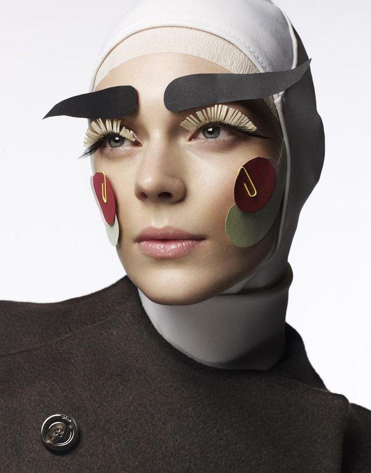 Dansk Magazine Make-up by #Lisaeldridge