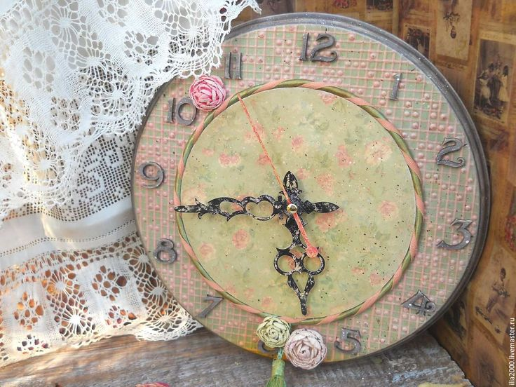 "Купить Часы ""Moustiers - Sainte - Marie"" - часы на кухню, часы в кухню, кухонные часы"