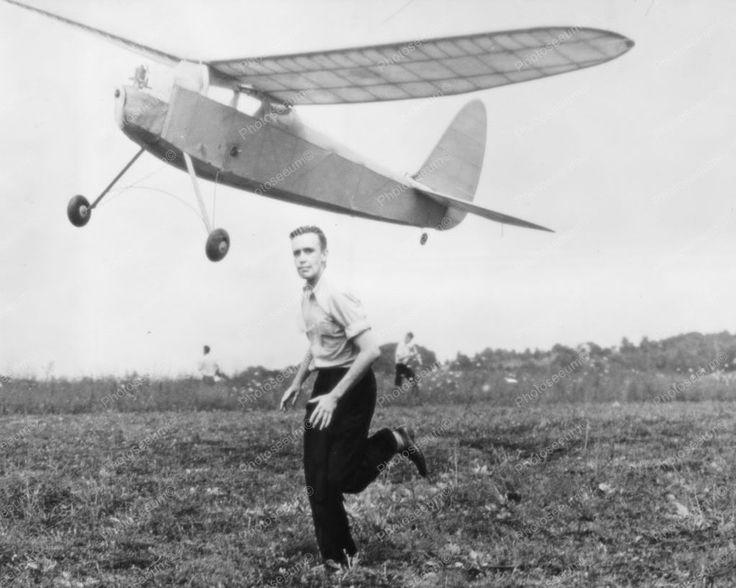 Gas Powered Model Plane 1940s