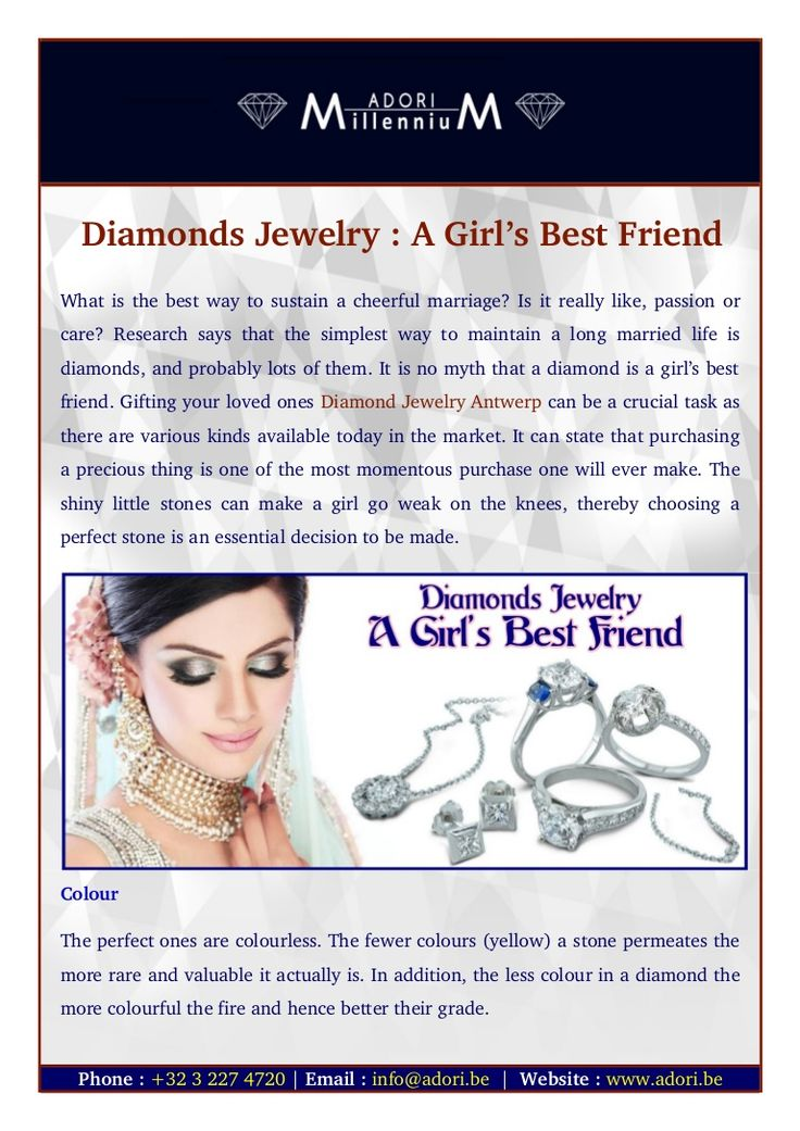Today, diamond jewelry in Antwerp is not only available in stores but also online. One can make their purchases online and bring smiles on the faces of their loved ones.