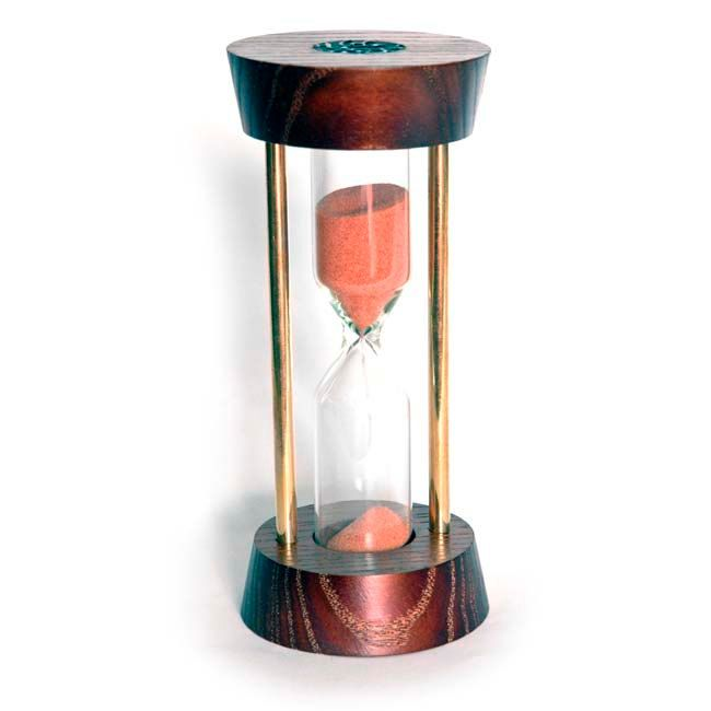 Hourglass timer Sand hourglass  Wooden hourglass  Sand timer Wooden sand clock  Sandglass  Hourglass kit (24.99 USD) by AirDream
