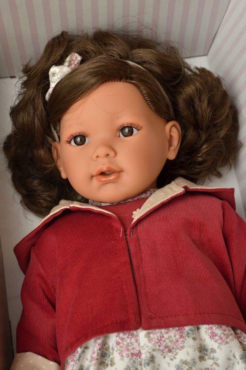 Realistická panenka Lula Chaqueta - tmavé vlasy  -  Antonio Juan ze Španělska