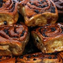 The Chelsea Bun is a classic British yeast-based cake that makes a wonderful accompaniment to coffee.