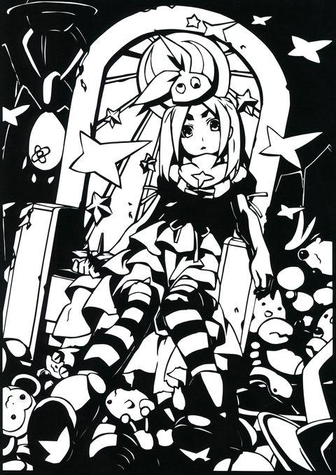 「[切り絵]物語シリーズまとめ」/「patata」の漫画 [pixiv]