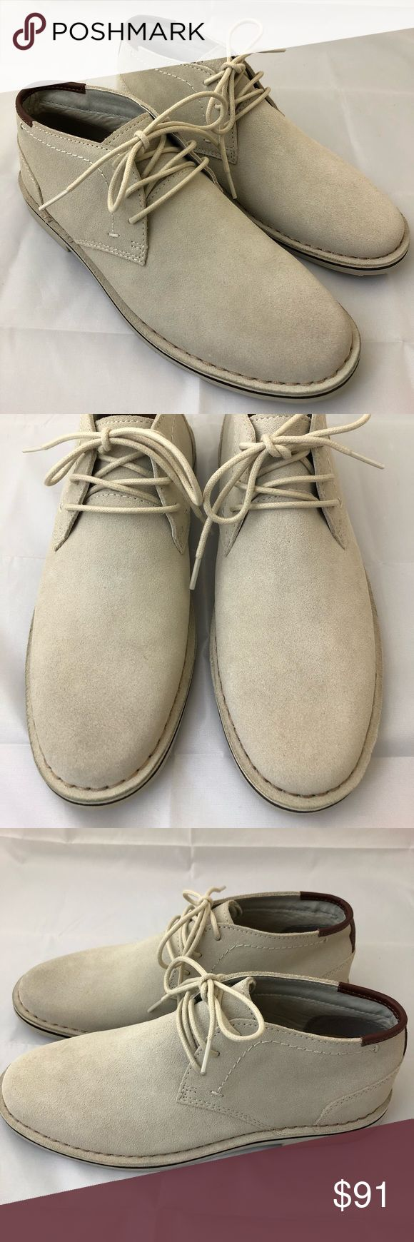 KENNETH COLE DESERT SUN SUEDE CHUKKA BOOTS NEW REACTION KENNETH COLE MENS DESERT SUN SUEDE CHUKKA BOOTS - BEIGE - SIZE 7.5 New without the box or tags. Reaction Kenneth Cole Shoes Chukka Boots