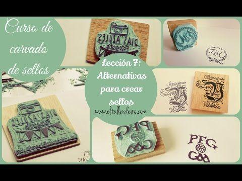Curso de carvado de sellos: LECCIÓN 7: Alternativas para crear sellos | Aprender manualidades es facilisimo.com