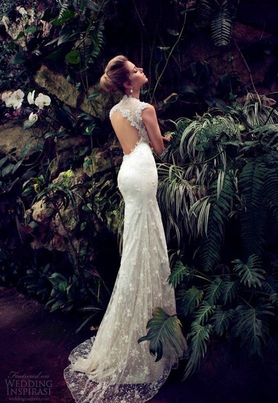 Vintage wedding dress via Inweddingdress.com #weddingdress #vintage