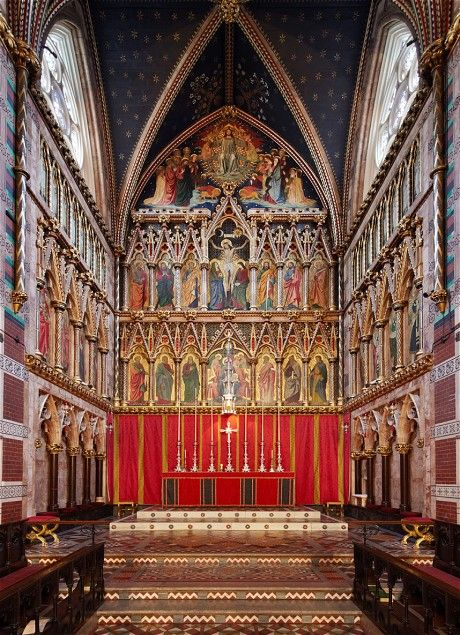 All Saints, Margaret Street, London. The ten most important buildings in England - Telegraph