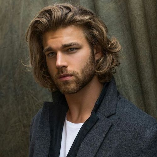 55 Medium Length Hairstyles For Men Styling Tips Men Hairstyles World In 2020 Long Hair Styles Men New Long Hairstyles Medium Length Hair Styles