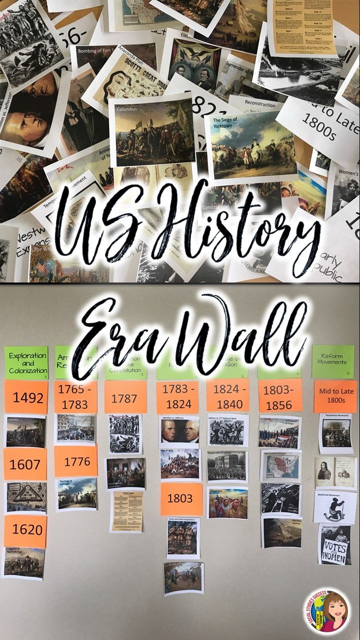 This is what I need to do on my wall - create an overview of history from Creation to 9-11