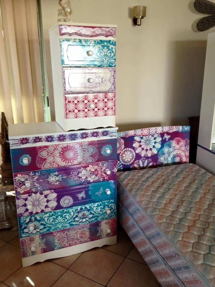Girls bedroom set I made