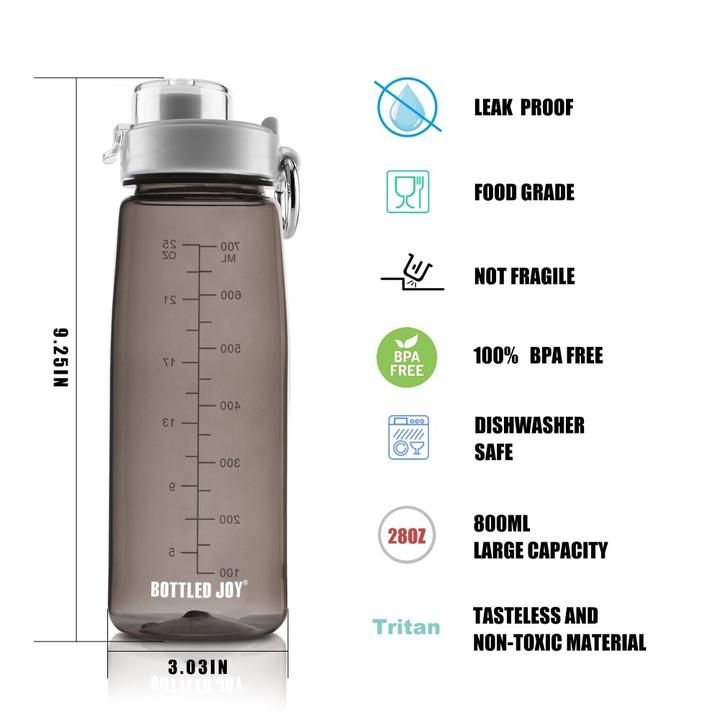Brand Name Bottled Joy Thermal Insulation Performance None Outdoor Activity Tour Certification Fda Certification In 2020 Bottle Plastic Bottles Tritan Water Bottle