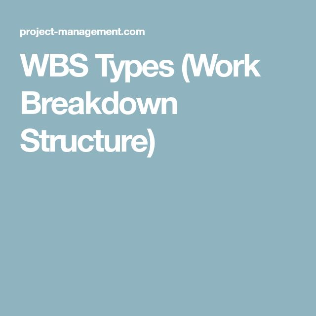 9 best civil engineering images on pinterest civil engineering wbs types work breakdown structure fandeluxe Image collections