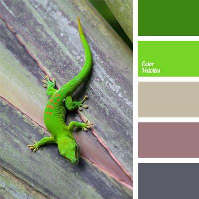 """""""dusty"""" violet, bright lime, color for a decor, color of a lilac, color palettes for a decor, color solution, ime and grey, lilac color, lime and green, palettes for designer, shades of gray, shades of green, violet-gray color.  - Voor meer kleurinspiratie kijk ook eens op http://www.wonenonline.nl/interieur-inrichten/interieur-kleur/"""