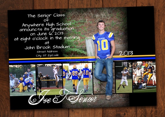 56 best Senior Graduation Invitations images on Pinterest Senior