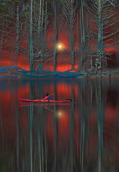 ~~kayaking on calm waters by peter holme III~~