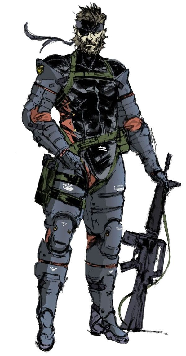 Naked Snake, A true warrior, and always my favorite Snake out of the Metal Gear Solid Series, He's the father of all the events.. Hence making him the BEST!