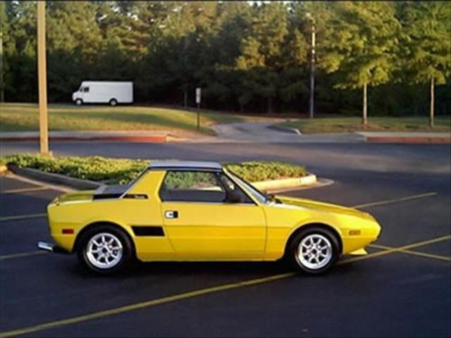 Fiat X/19. Yes, they were susceptible to rust, but Exxy's were also fun little buggies.