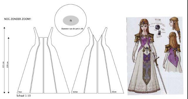Dress pattern or Zelda