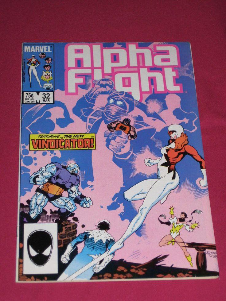 Alpha Flight #32 Marvel Comic 1986 Key 1st App of Black Raazer, Blade of Baghdad | eBay