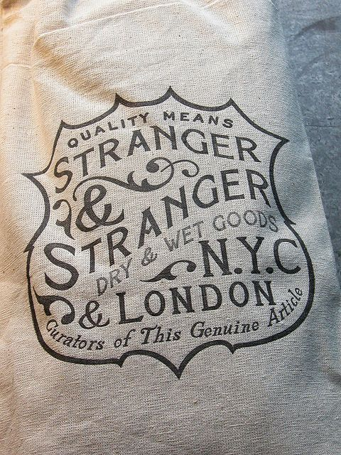 Stranger  Stranger Canvas Bag CU