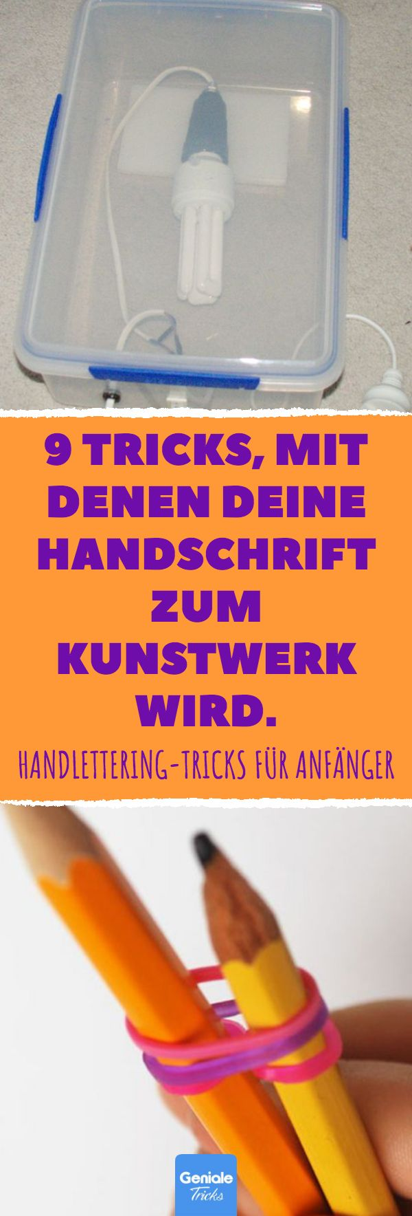 9 Tricks, mit denen deine Handschrift zum Kunstwerk wird. Handlettering: 9 Tipps… – Geniale Tricks