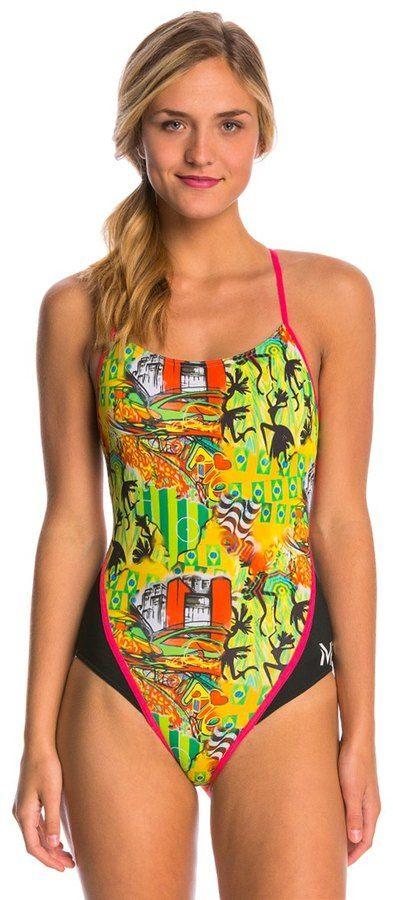 MP Michael Phelps Jongo Racerback One Piece Swimsuit 8141822