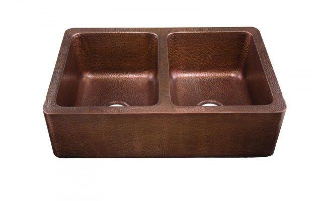 Corniglia Copper Kitchen Sink