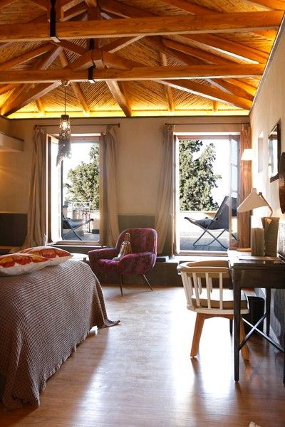 A suite at the Kinsterna Hotel & Spa in Monemvasia, Greece