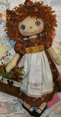 *RAGGEDY ANN ~ charmingsbycmh: Thanksgiving Annie