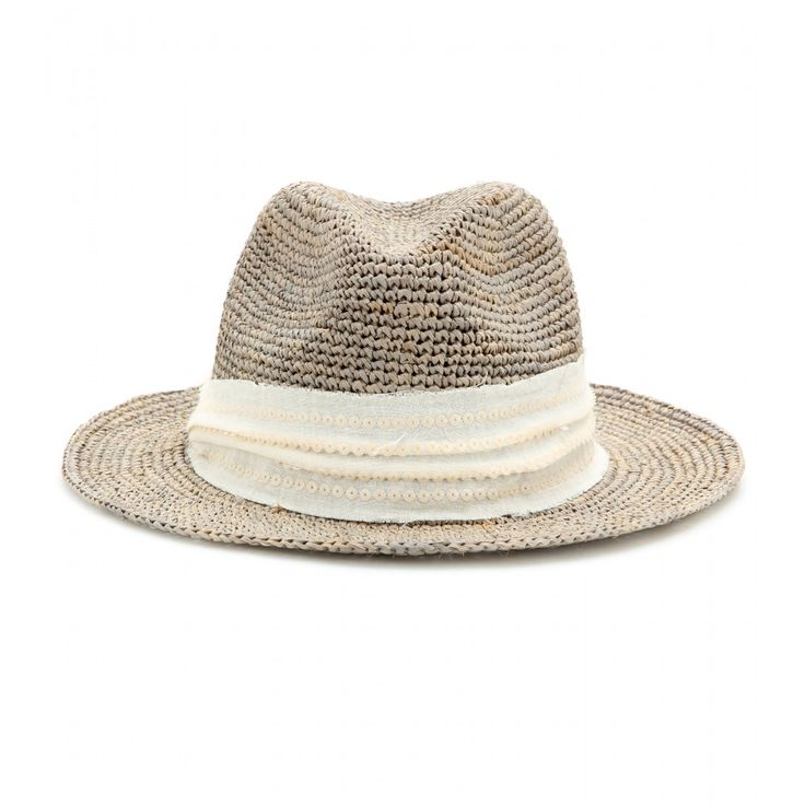 Hat Attack - Woven fedora - Protect yourself from the sun in style. Hat Attack's woven fedora is the chicest way to ward off damage from sunrays. Wear it with a printed kaftan over your sleekest bikini for instant poolside glamour. seen @ www.mytheresa.com