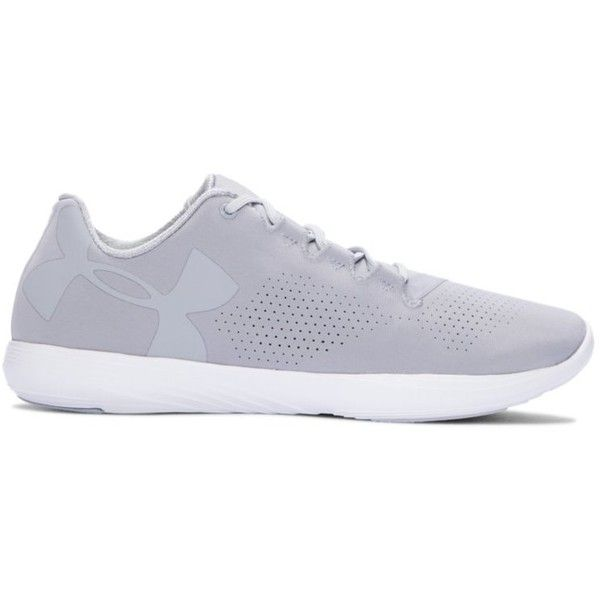 Under Armour Women's UA Street Precision Low Shoes ($80) ❤ liked on Polyvore featuring shoes, athletic shoes, overcast gray, lightweight shoes, grey shoes, under armour footwear, perforated shoes and breathable shoes