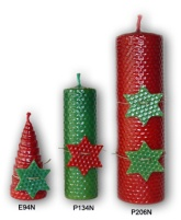 velas navideas