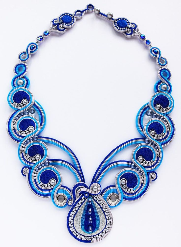 Aqua Trickle Necklace