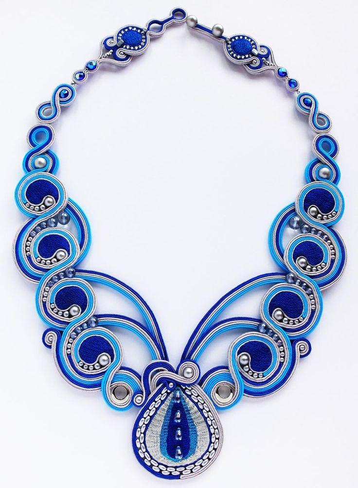 Aqua Trickle Necklace