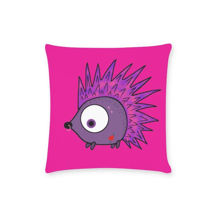 Punk Hog New Pillow Case Pillow Inner Included 16