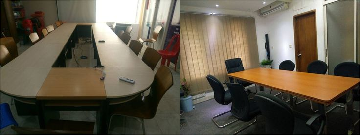 "Conference Table------Manufacturer And Vendor: Otobi Size: 1"" thick Material: laminated board Unit cost: 60000-150000 tk"