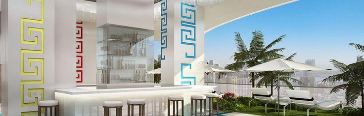 The Milano Residences Manila Poolside Versace Interior Design