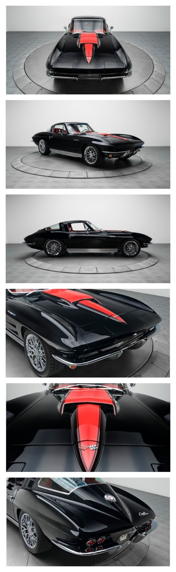 1964 Chevy Corvette Stingray - If you're looking for a razor-sharp sports car that offers vintage style and top notch performance, your search is officially over! #ThrowbackThursday: