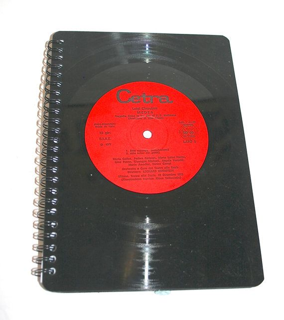 Crafty Praxis LOVES Vinyl lined notebook! Fantastic selection in store craftypraxis.co.uk