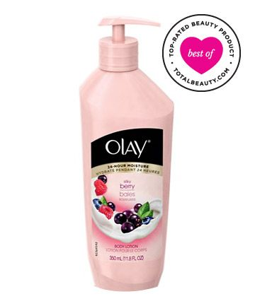 Best Body Lotion No. 2: Olay Silky Berry Body Lotion, $5.99