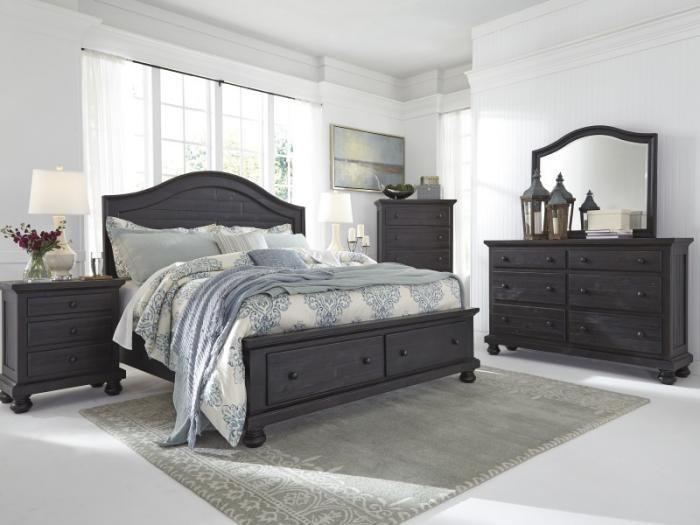 napa valley queen storage bed dresser mirror u0026 furniture showcase