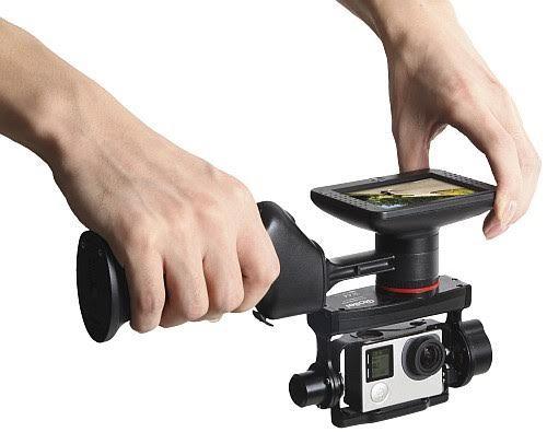eGimbal da Rollei tre nuovi stabilizzatori per video pro con le action cam