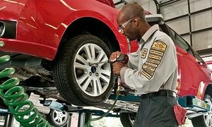 Groupon - $ 25 for Premium Oil-Change Package with Tire Rotation and Brake Inspection at Precision Auto Care (Up to $106 Value) in On Location. Groupon deal price: $25