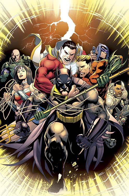 July's Batman and Robin #33 Meh.